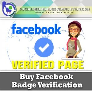 Buy Facebook Page Badge Verification