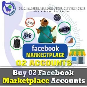 Buy Facebook Account With Marketplace