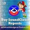 Buy SoundCloud Reposts cheap