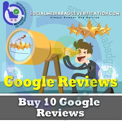 Purchase Google Reviews